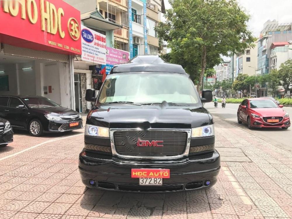 Xe GMC Savana 5.3AT đời 2009, màu đen, nhập khẩu chính hãng số tự động