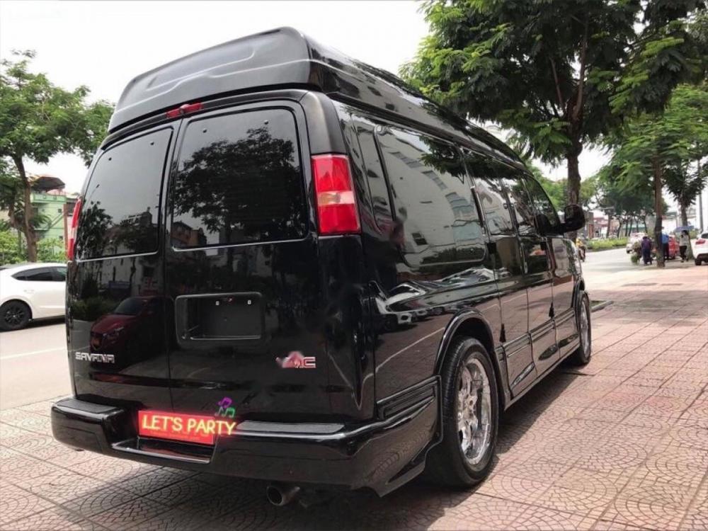 Bán GMC Savana 5.3AT sản xuất 2009, màu đen, nhập khẩu chính hãng số tự động