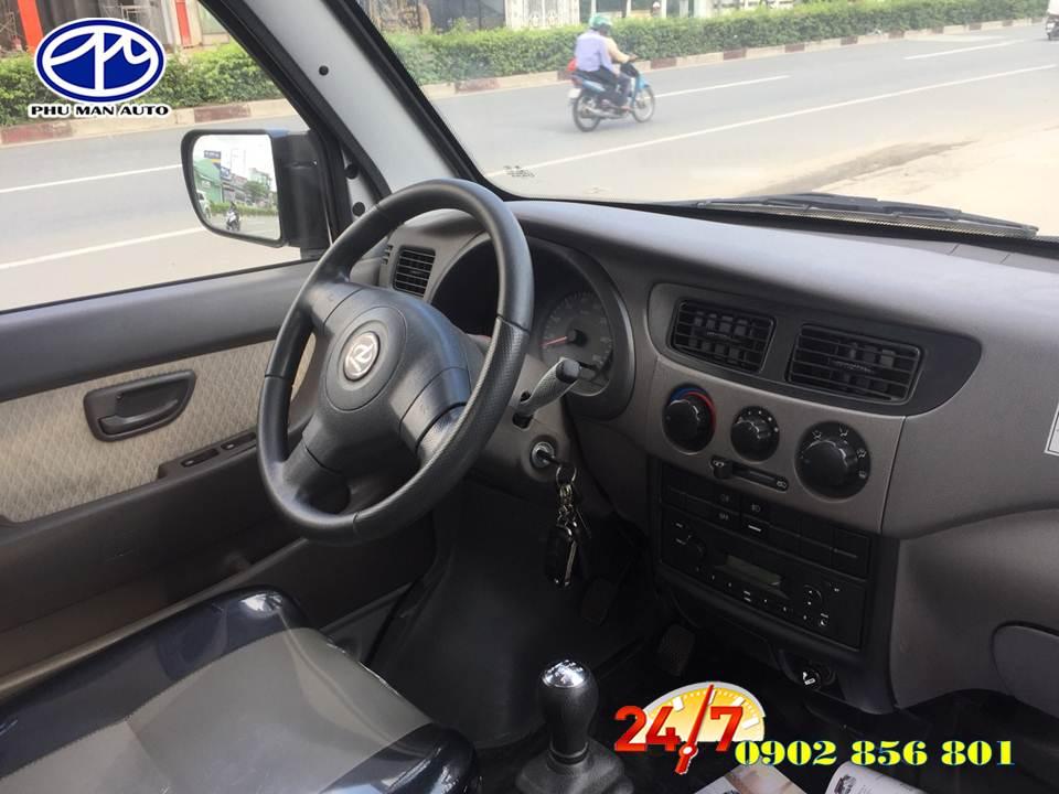 Giá xe tải DongBen 870kg, đời mới trợ lực tay lái.