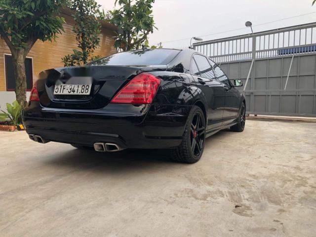 Bán Mercedes S63 sản xuất năm 2007, màu đen, xe nhập