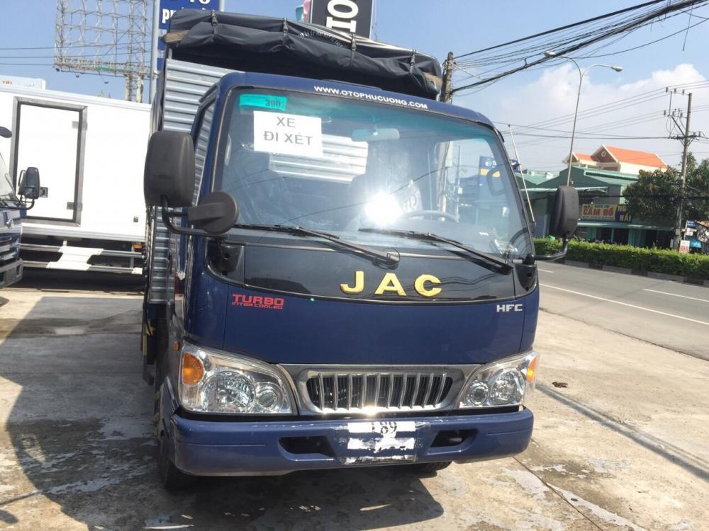 Xe tải Jac 2 tấn 4, thùng dài 3 mát 7