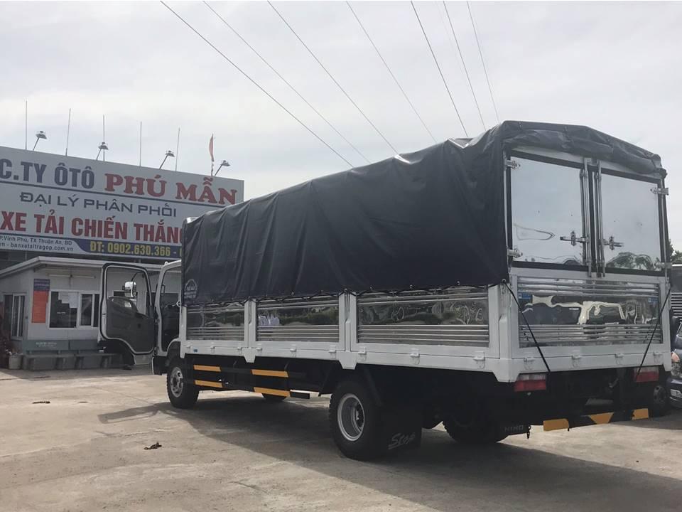 Bán xe tải Hyundai 8 tấn phiên bản  đặc biệt, thùng dài 6m2, hỗ trợ trả góp