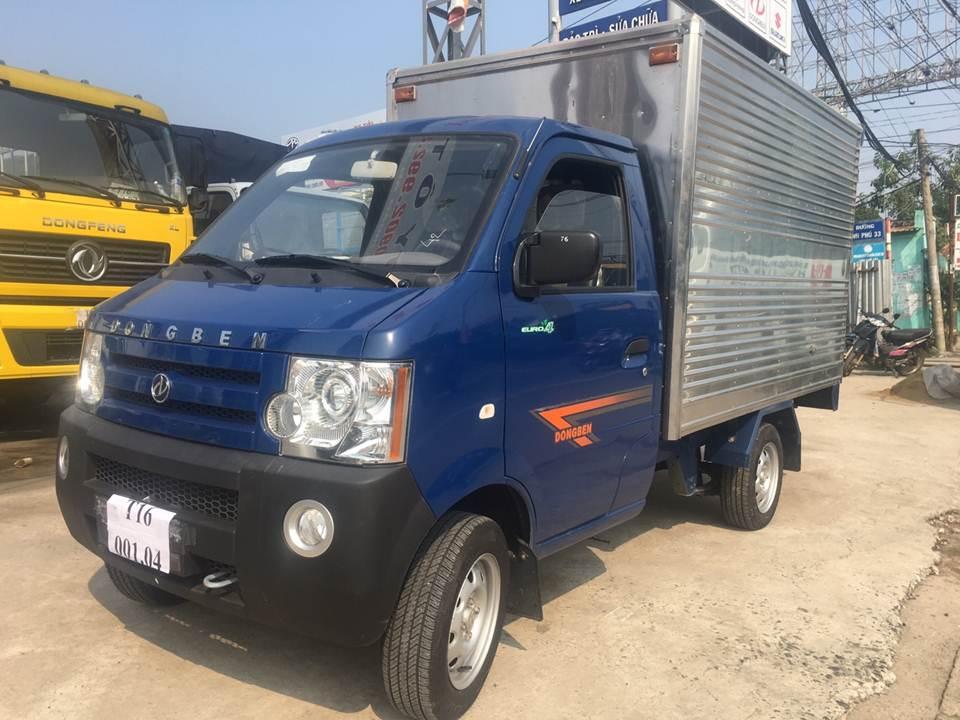 Bán xe tải Dongben thùng kín, 40tr giao xe ngay
