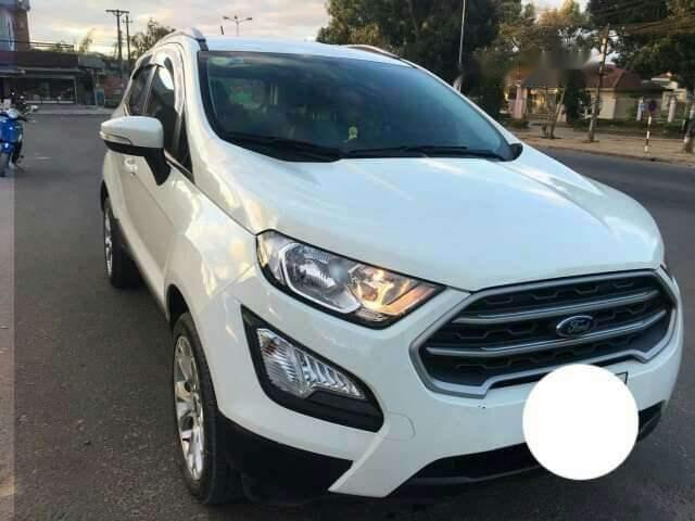 Cần bán xe Ford EcoSport năm sản xuất 2018, màu trắng, nhập khẩu, xe đẹp