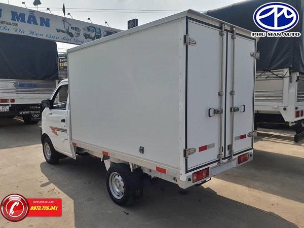 Xe tải nhẹ Dongben thùng bảo ôn tải 800kg