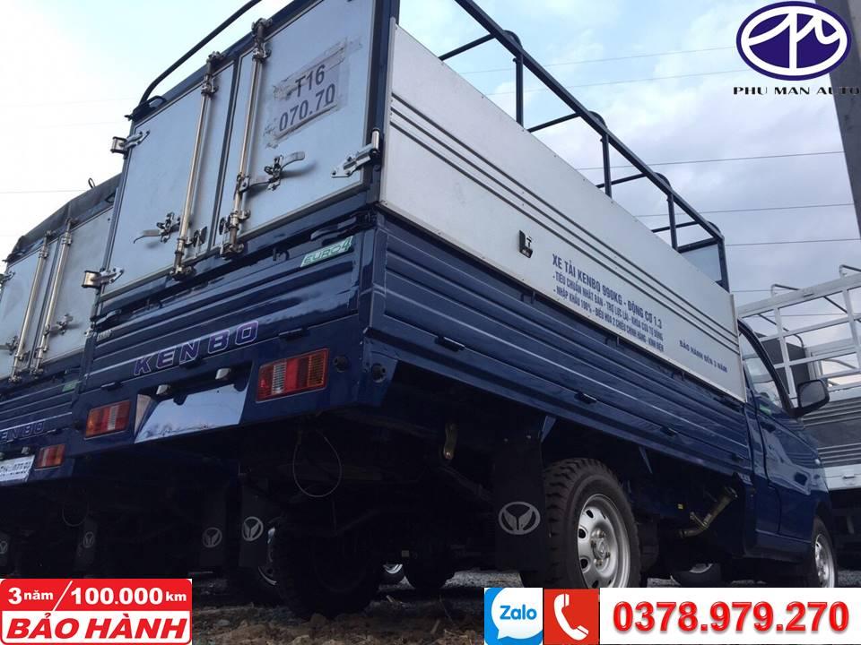 Xe tải nhỏ KENBO thùng bạt - 990kg -dài 2m6