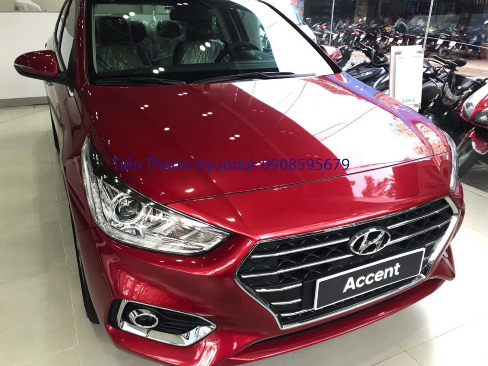 Hyundai Accent, giá tốt 428tr + gói phụ kiện, trả trước từ 149tr, góp 6tr5