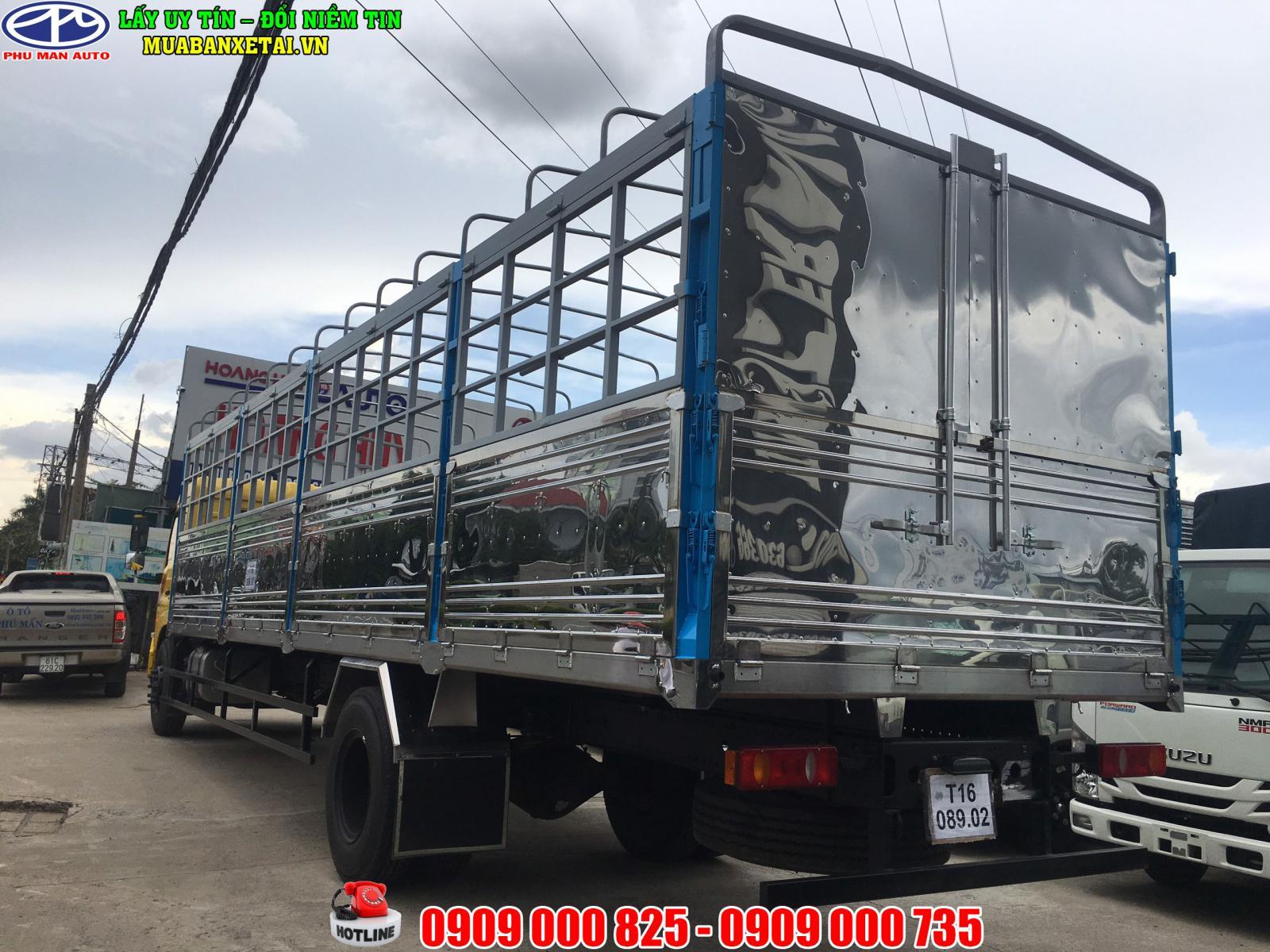 Xe TẢI DONGFENG 8 tấn B180 thùng dài 9m7 – Mới nhất – Dongfeng Hoàng Huy B180