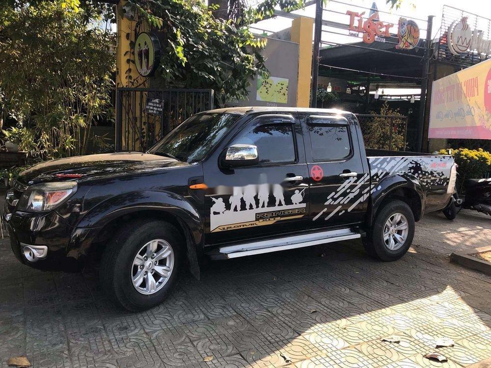 Bán Ford Ranger 2010, màu đen, nhập khẩu, giá tốt