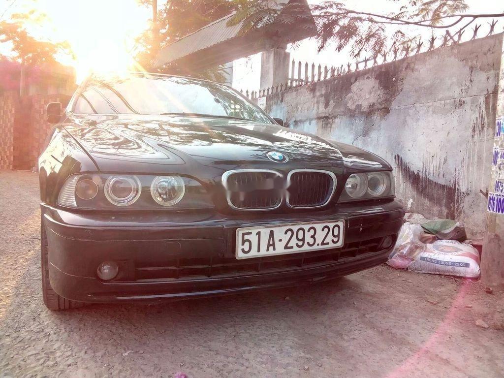 Bán BMW 5 Series đời 2003, màu đen, xe nhập
