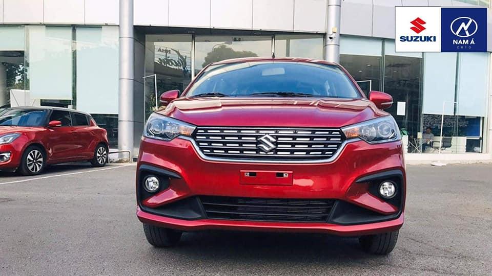 Bán ô tô Suzuki Ertiga AT 2019, màu đỏ, nhập khẩu nguyên chiếc, 555 triệu