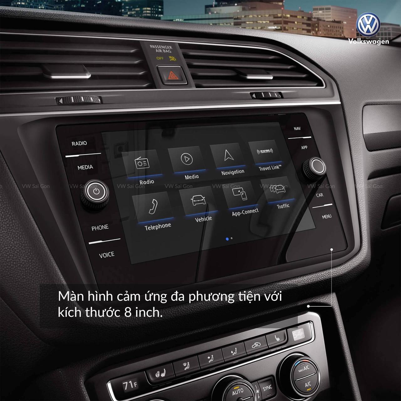 Cần bán xe Volkswagen Tiguan đời 2018, màu đen, nhập khẩu nguyên chiếc