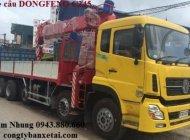 Đại lý chính hãng xe cẩu Dongfeng tải trọng 10 tấn Hoàng Huy, Trường Giang, Dongfeng C230 có cẩn cẩu giá 890 triệu tại Tp.HCM