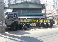 Bán xe tải Dongfeng Trường Giang 5 chân 22 tấn/22T thùng dài 9.5 mét giá 1 tỷ 60 tr tại Tp.HCM