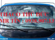 Bán xe tải Thaco Ollin345 tải trọng 2,4 tấn thùng mui  bạt , chạy thành phố được giá 287 triệu tại Tp.HCM