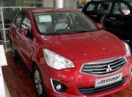 Mitsubishi Attrage 1.2 MT màu đỏ, nhập khẩu nguyên chiếc, giá: 410 tr tại Đà Nẵng, liên hệ: 09319111444 giá rẻ bất ngờ giá 410 triệu tại Đà Nẵng