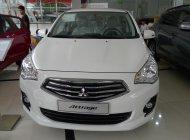 Bán ô tô Mitsubishi Attrage CVT, màu trắng, xe nhập, có trả góp giá 460 triệu tại Tp.HCM