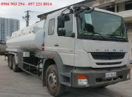 Bán xe bồn chở xăng/ dầu 18 khối/18 m3 Fuso FJ24R nhập khẩu, xe xi téc Fuso FJ 18 khối trả góp giá rẻ giá 1 tỷ 250 tr tại Tp.HCM