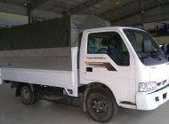 Bán xe tải Kia 1t4, Thaco Frontier 140, thùng mui bạt mở 3 bửng giá 334 triệu tại Tp.HCM