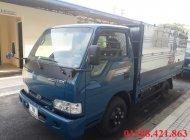 Bán xe tải kia 2,4 tấn, thùng mui bạt 2,4 tấn, k3000s 2,4 tấn, Thaco k165 giá 334 triệu tại Tp.HCM