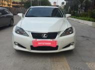 Xe Lexus IS250 đời 2011 màu trắng, giá 1 tỷ 500 triệu nhập khẩu nguyên chiếc  giá 1 tỷ 500 tr tại Hà Nội