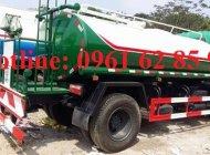 Bán xe tưới nước rửa đường howo 9 m3,2017,  giá đại lý giá 560 triệu tại Hà Nội