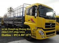 Bán xe tải Dongfeng Hoàng Huy 4 chân 17.9 tấn (17t9) thùng dài 9.5 mét giá 1 tỷ 60 tr tại Tp.HCM