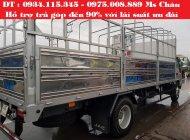 Cần bán xe JAC HFC thùng bạt | xe tải jac 9.1Tan| Giá xe tải jac 9,1T | xe tải jac 9.1 tấn trả góp giá 575 triệu tại Bình Dương