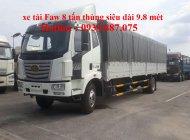 Bán xe tải Faw 8 tấn (8t) thùng dài 9.8 mét, trả góp lãi suất ưu đãi giá 940 triệu tại Tp.HCM