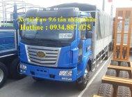 bán xe tải faw 9t6 – 9T6 – 9.6 tấn nhập khẩu thùng dài 7.5m giá 735 triệu tại Tp.HCM