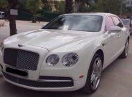 Bán ô tô Bentley Continental Flying Spur sản xuất 2014 màu trắng, giá tốt, xe nhập giá 12 tỷ 499 tr tại Tp.HCM
