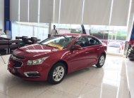 Cần bán Chevrolet Cruze đời 2017, màu đỏ, hỗ trợ vay tối đa tư vấn nhiệt tình ưu đãi lên đế 70tr đồng giá 529 triệu tại Tp.HCM