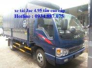 Bán xe tải JAC 4.95 tấn phiên bản quốc tế - xe tải jac 4.95 tấn (4t95) cao cấp giá 345 triệu tại Tp.HCM