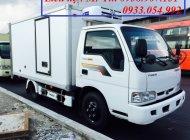 Xe tải Kia đông lạnh K165 tải trọng 2 tấn, có xe giao liền, có hỗ trợ mua trả góp ngân hàng giá 334 triệu tại Tp.HCM