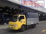 Xe tải Kia Trường Hải K165 tải trọng 2400kg 2300kg có xe giao liền giá 334 triệu tại Tp.HCM