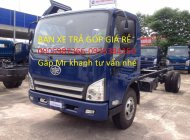 Xe tải Faw 7.3 tấn thùng dài 6.2 mét vớ động cơ Hyundai giá 590 triệu tại Tp.HCM