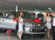 Bán xe Mitsubishi Triton 2 cầu, số sàn sản xuất 2018, màu xám (ghi), xe nhập, giá chỉ 666 triệu giá 666 triệu tại Hà Tĩnh