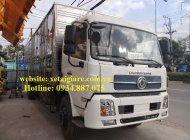 Bán xe tải Dongfeng 6.7 tấn - 6t7 - 6T7 nhập khẩu thùng kín siêu dài 9.3 mét giá 725 triệu tại Tp.HCM