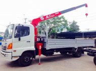 Bán xe tải Hino FC 6T4/6400 kg gắn cẩu UNIC 3 tấn mới 100% nhập khẩu giá 200 triệu tại Bình Dương