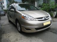 Bán Toyota Siena LE 2009, màu vàng, nhập khẩu  giá 765 triệu tại Hà Nội