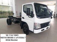 Bán xe tải nhỏ Nhật Bản, xe tải Mitsubishi Canter 4.7, hỗ trợ trả góp giá 559 triệu tại Tp.HCM