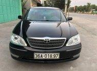 Bán xe Toyota Camry 2.4G đời 2004, màu đen  giá 355 triệu tại Ninh Bình