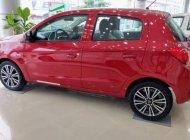 Cần bán Mitsubishi Mirage CVT ECO đời 2017, màu đỏ, nhập khẩu chính hãng giá cạnh tranh giá 435 triệu tại Hà Nội