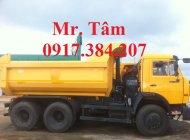 Cần bán Kamaz Ben đời 2016, màu vàng, nhập khẩu nguyên chiếc giá 1 tỷ 230 tr tại Cần Thơ