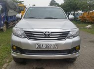 Cần bán xe Toyota Fortuner 4x2AT sản xuất 2014, màu bạc giá 750 triệu tại Hà Nội