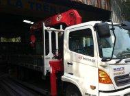Bán xe tải Hino 5 tấn gắn cẩu Unic mới cũ, hỗ trợ vay ngân hàng 95%, giao xe ngay giá 785 triệu tại Tp.HCM