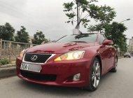 Cần bán gấp Lexus IS 250 sản xuất năm 2009, màu đỏ, nhập khẩu nguyên chiếc còn mới, 899 triệu giá 899 triệu tại Hà Nội