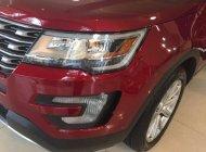 Bán ô tô Ford Explorer Limited đời 2017, màu đỏ, xe nhập giá 2 tỷ 180 tr tại Tp.HCM