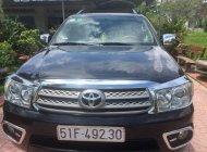 Bán Toyota Fortuner V 2010, màu đen, xe nhập   giá 550 triệu tại Tp.HCM