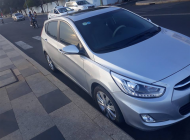 Bán ô tô Hyundai Acent 1.4AT đời 2015, màu bạc, như mới, 485 triệu giá 485 triệu tại Tp.HCM